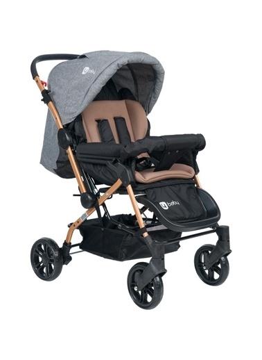4 Baby 4 Baby Olympus Gold Çift Yönlü Bebek Arabası Kahverengi Renkli